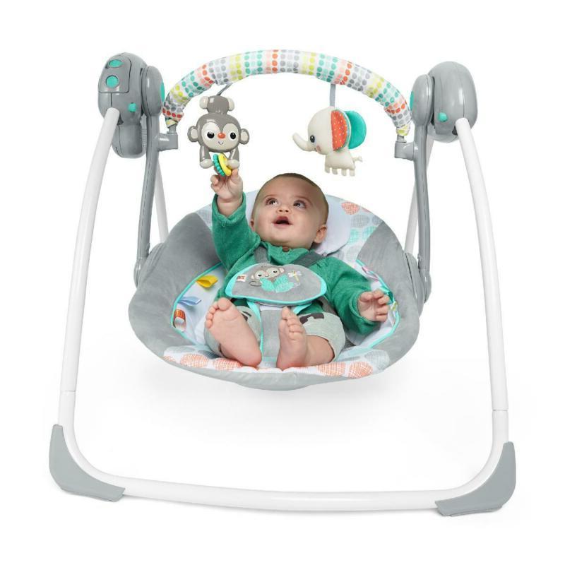 Baby Swing Portable cradle infant bouncer rocker sway toddler rocking seat