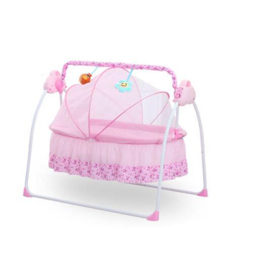 Electric Auto-Swing Baby Crib +