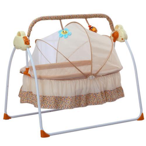 Electric Auto-Swing Baby Cradle +