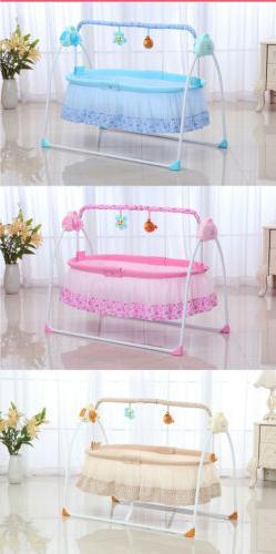 Electric Baby Crib Infant +