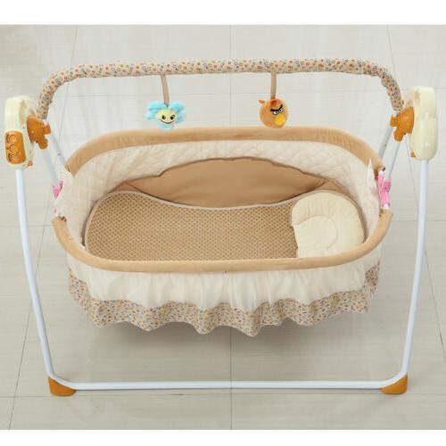 Electric Baby Space Crib +