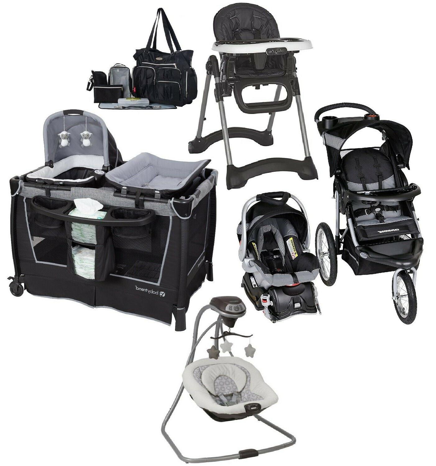combo jogger stroller travel system car seat