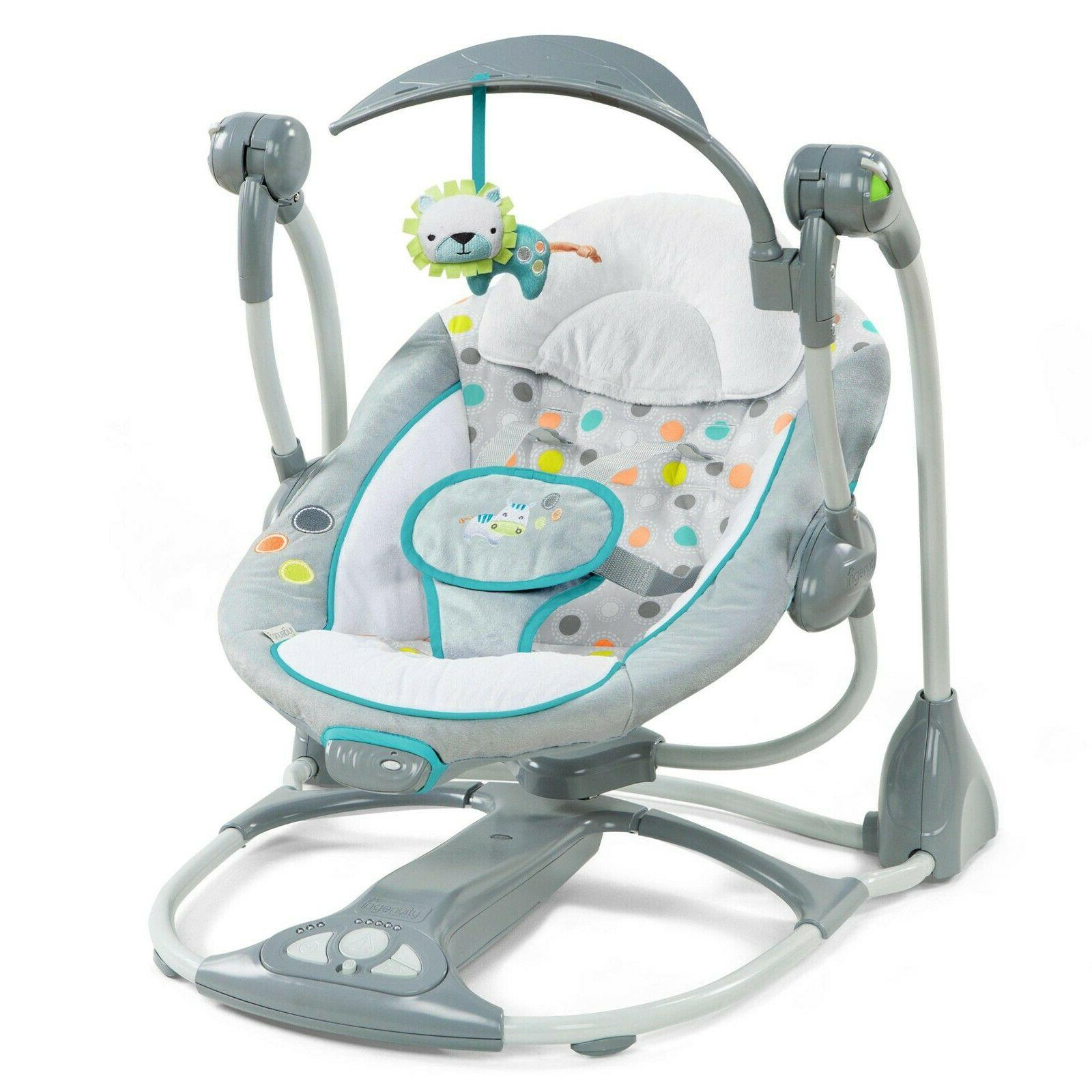 Ingenuity ConvertMe 2 Seat Portable Baby Swing