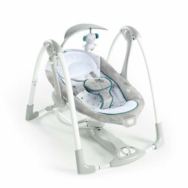 convertme swing to seat portable swing color