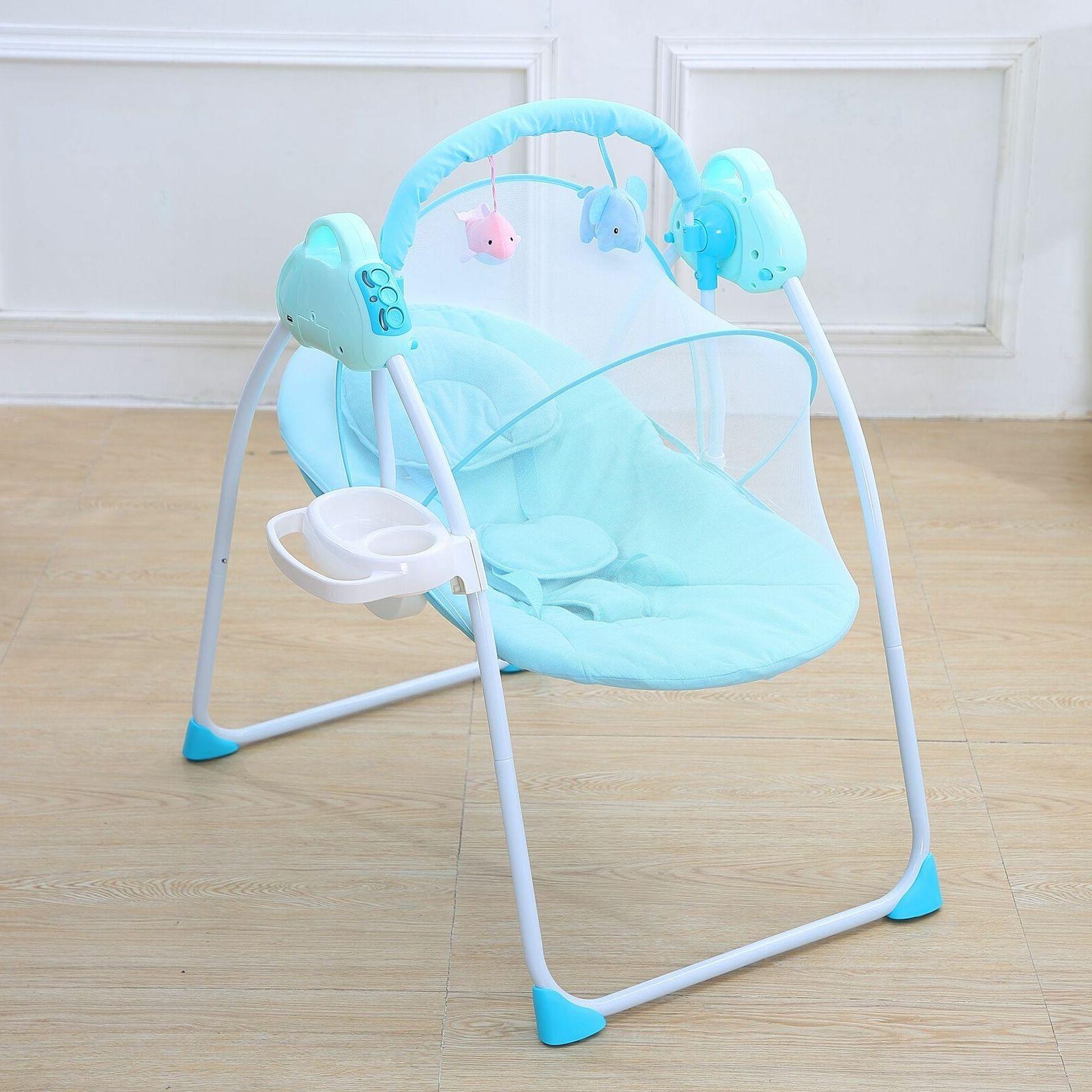 Electric Baby Sleeping Basket Bassinet
