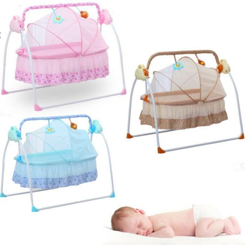 Simple Electric Baby Swing Cradle Infant Remote Controller S