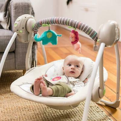 Electric Swing Infant Portable Cradle Seat Sway Home