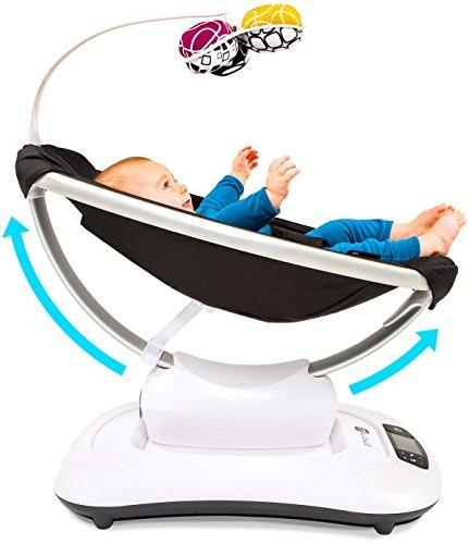 4moms mamaRoo Bluetooth-Enabled high-tech Classic Fabric with 5
