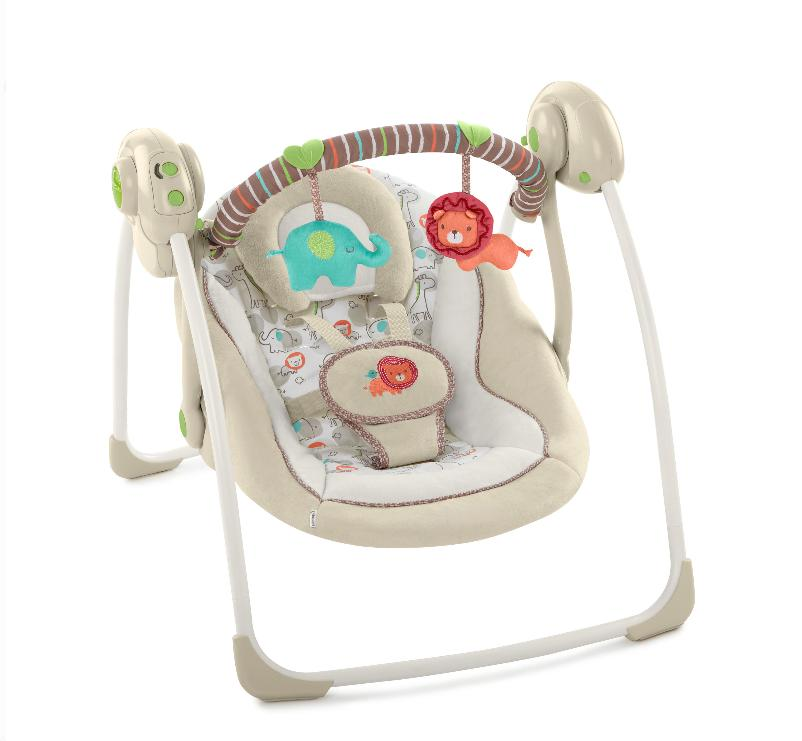 NEW Electric Rocker Baby Swing Infant Portable Cradle Bounce