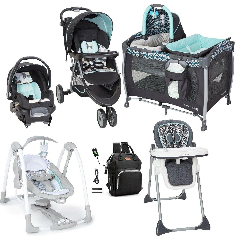 newborn baby boy stroller travel system set