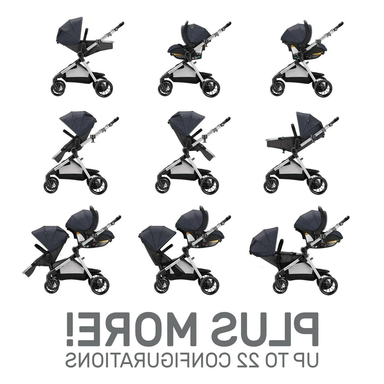 Newborn Stroller Car Combo Swing Travel System