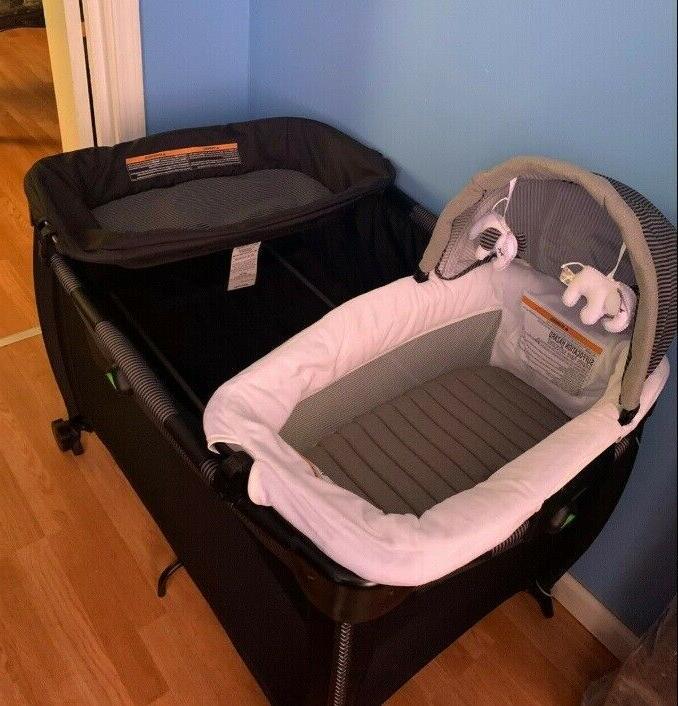 Newborn Baby Stroller with Car Playard Swing Bag Infant System