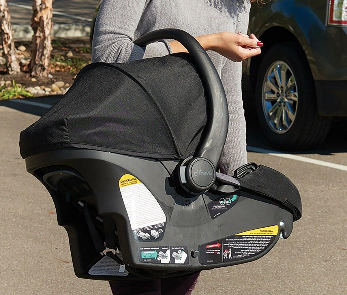 Newborn with Car Seat Combo Playard Swing Bag System