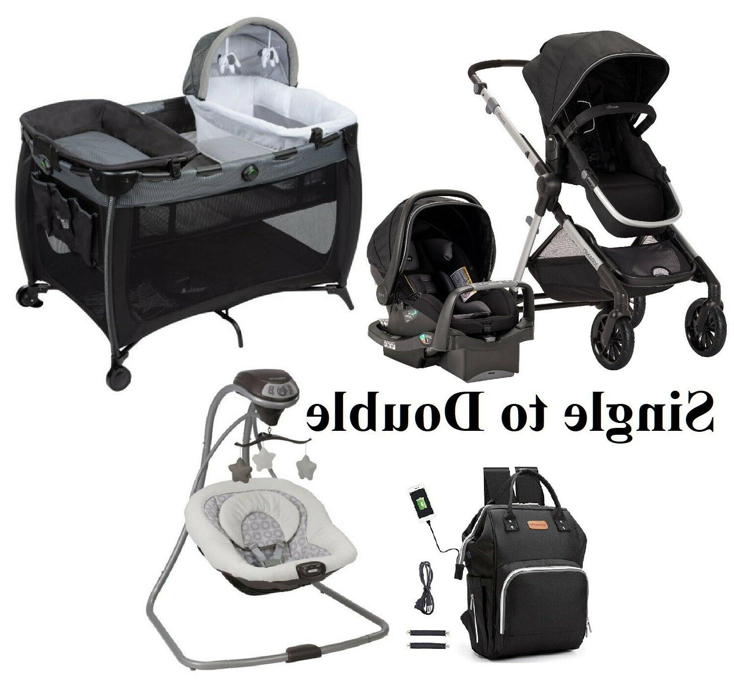 newborn baby stroller with car seat combo