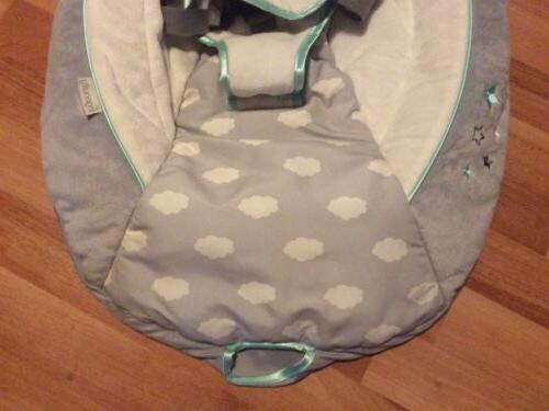 Ingenuity Simple 2 In 1 Infant Seat Cover Aqua