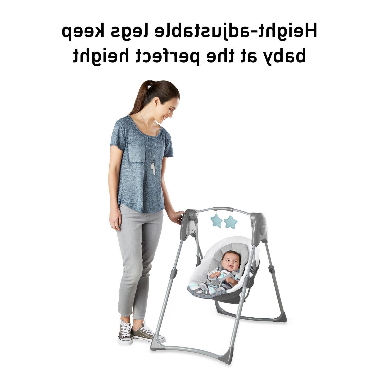 Slim Compact Baby Swing handle