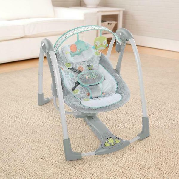 Baby n Portable Swing - Hoots