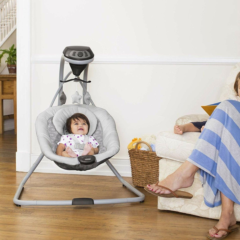 Newborn Baby Stroller Car Swing Bag System
