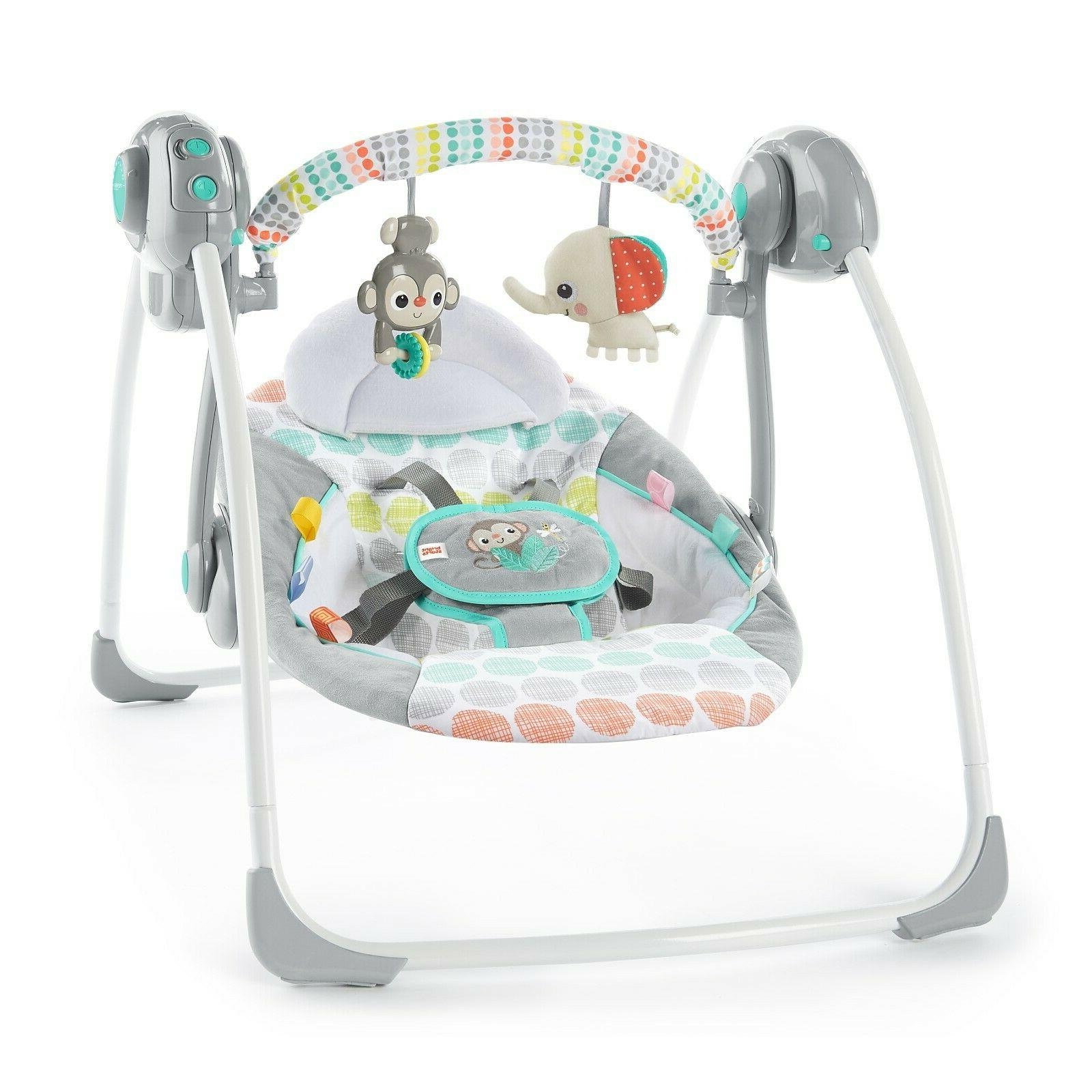 whimsical wild portable swing