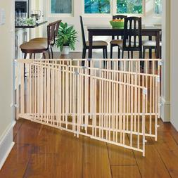 """LARGE BABY GATE Safety Fence 5-8"""" Extra Wide Swing Child D"""