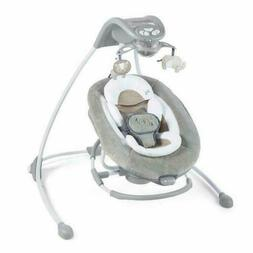 Ingenuity Baby DreamComfort InLighten Cradling Swing & Rocke