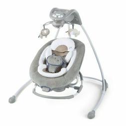 NEW Ingenuity Baby DreamComfort InLighten Cradling Swing & R