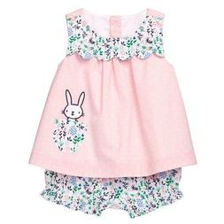 NWT Gymboree Baby Bunny Rabbit Swing Top Bloomer Short Set E