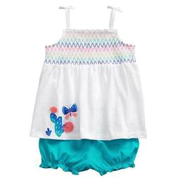 NWT Gymboree Cactus Butterfly Swing top bloomer set Baby Gir