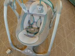 Ingenuity Power Adapt Portable Swing, Abernathy