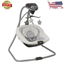 Graco Simple Sway Baby Infant Swing - 2 Speed Vibration, Abb