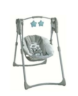 Graco Slim Spaces Compact Baby Swing - Humphry *Open box Due