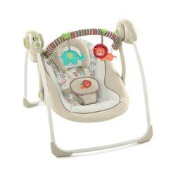 Ingenuity Soothe 'n Delight Portable Baby Swing - Cozy Kingd