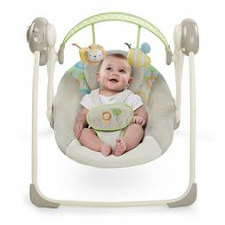 Ingenuity SooThe n Delight Portable Swing, Sunny Snuggles