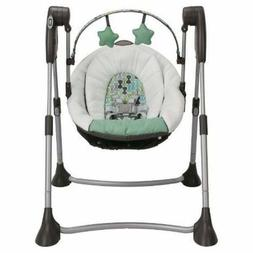 Graco Swing By Me Boden Collection Portable 2-in-1 Swing Fol