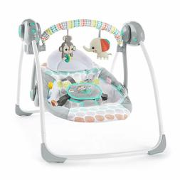 Bright Starts Whimsical Wild Portable Compact Automatic Swin