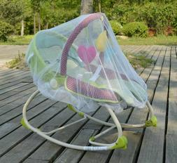 White Mosquito Bugs Net Mesh Cover for KARMAS PRODUCT Baby R